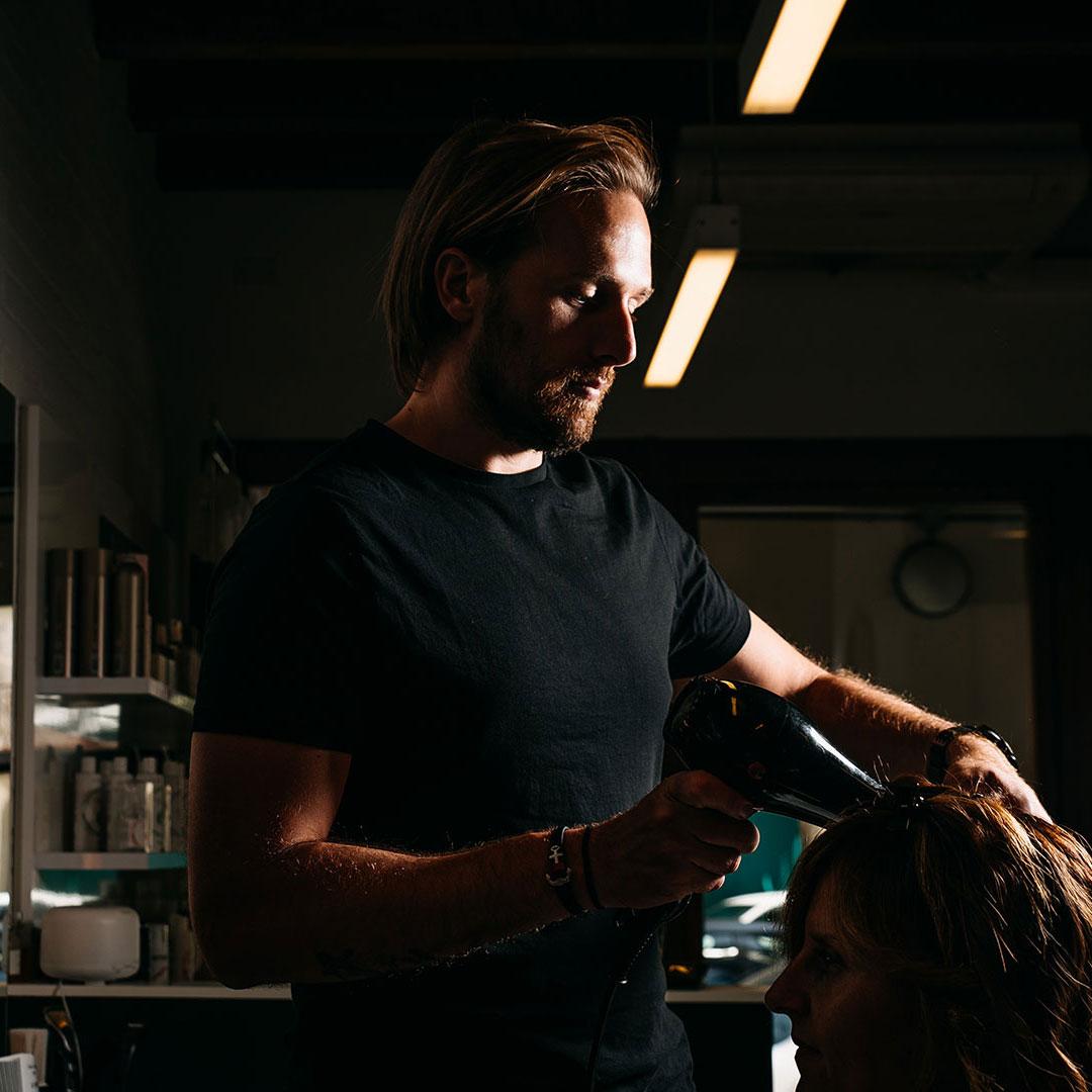 Loft Hair Studio Web Design Adviroo