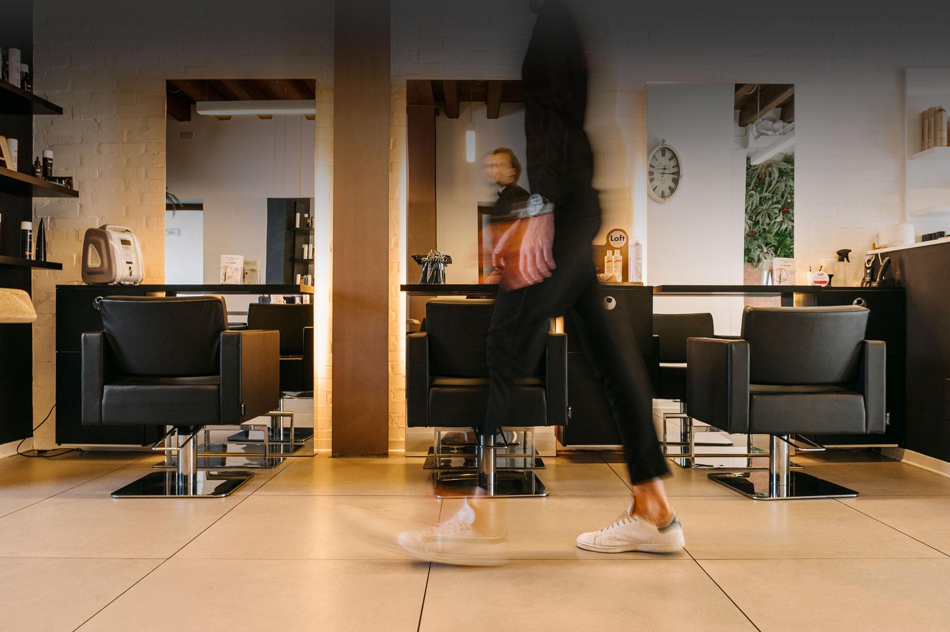 Loft Hair Studio content production by Adviroo