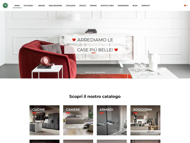 Mobilifici Rampazzo website