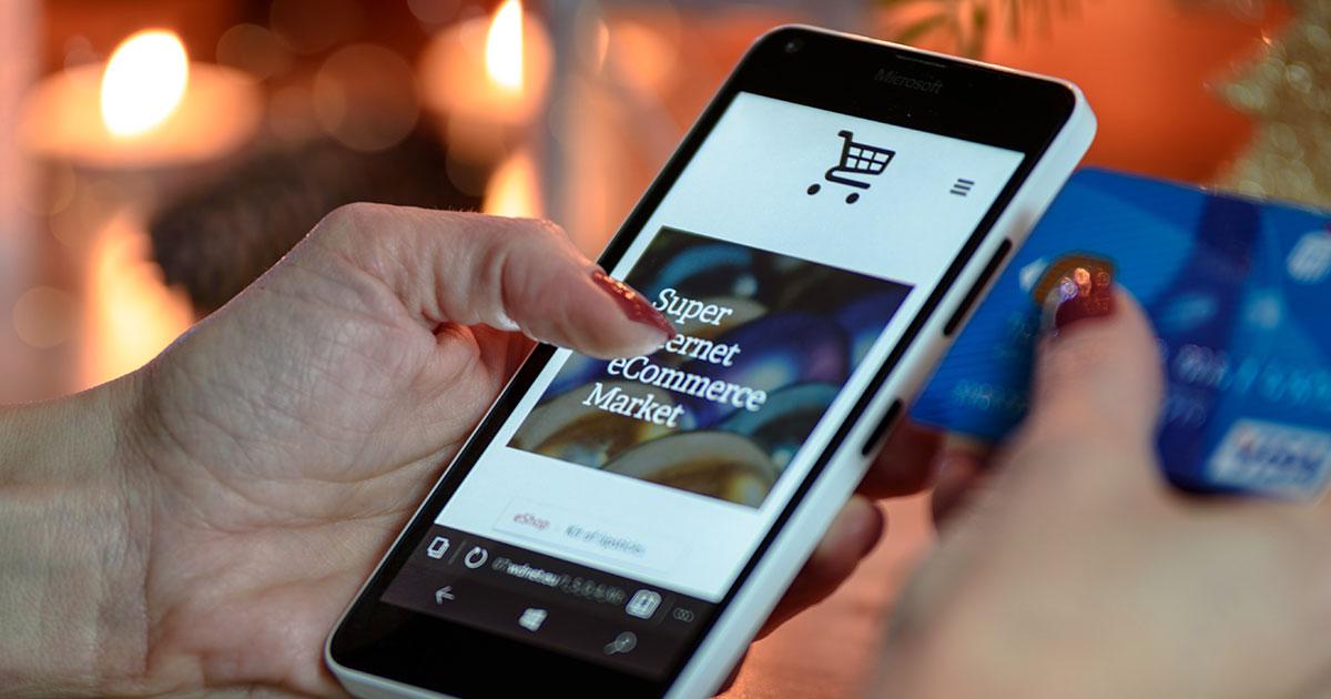 Utilizzo ecommerce da mobile