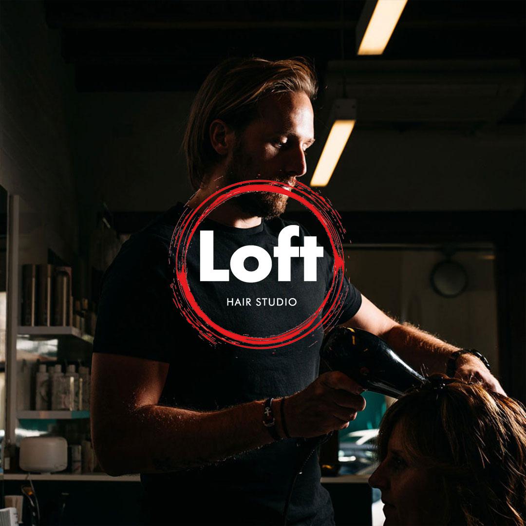 Loft Hair Studio Ecommerce, web design by Adviroo