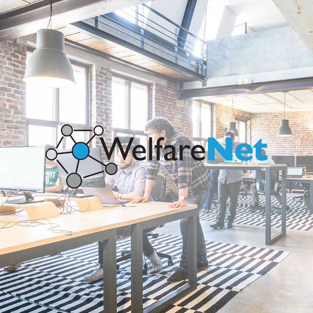 Welfare Net web design by Adviroo